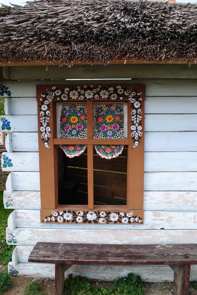 Malowana chata w Zalipiu.