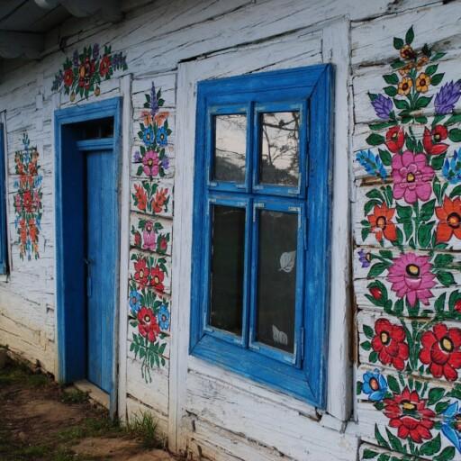 Malowana wieś Zalipie