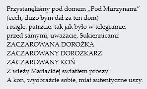 zaczarowana-dorożka-konstanty-ildefons-gałczyński-pod-murzynami-kraków