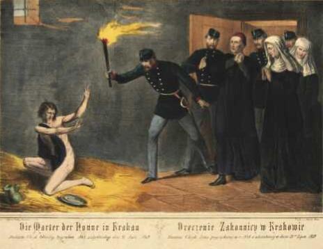 Dręczenie zakonnicy