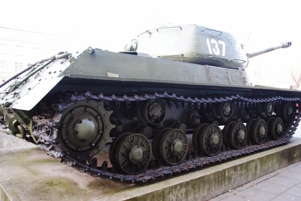Czołg w Krakowie