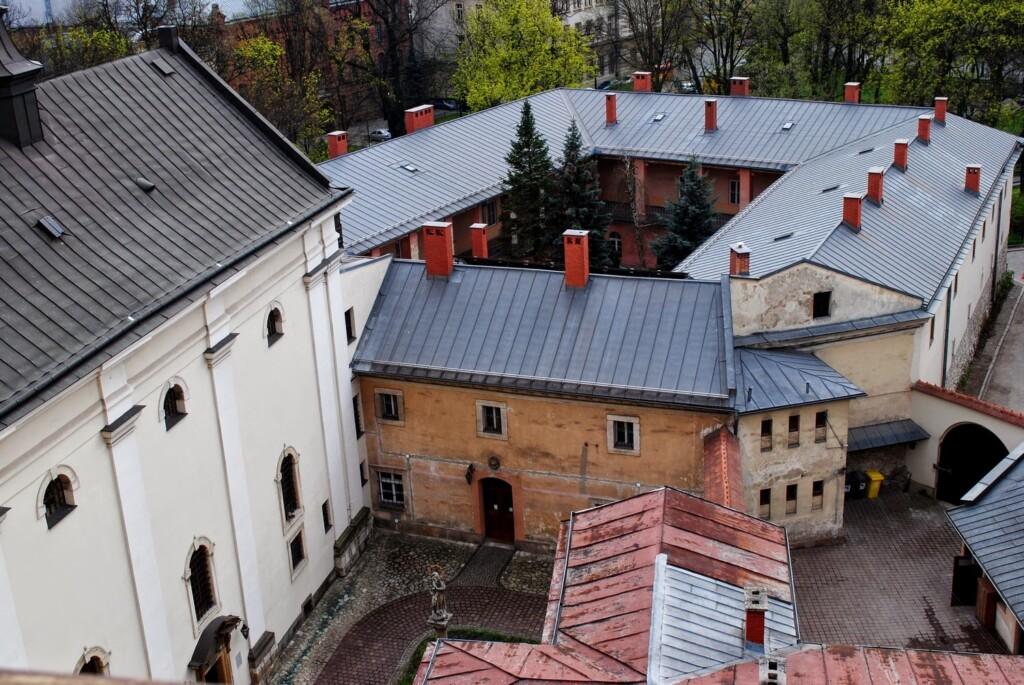Kraków z balkonu