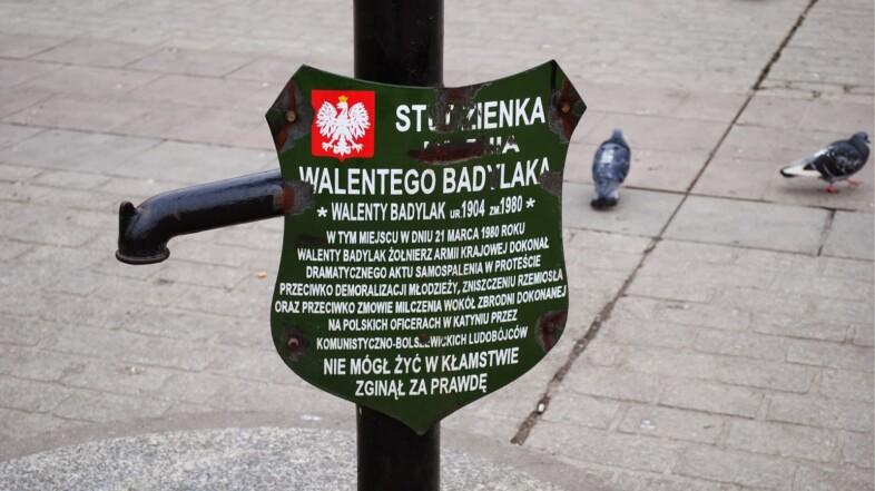 Walenty Badylak – samospalenie na krakowskim Rynku