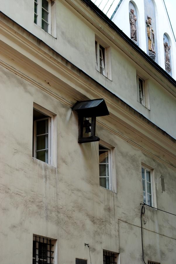 Dzwonek za konających w kościele Reformatów