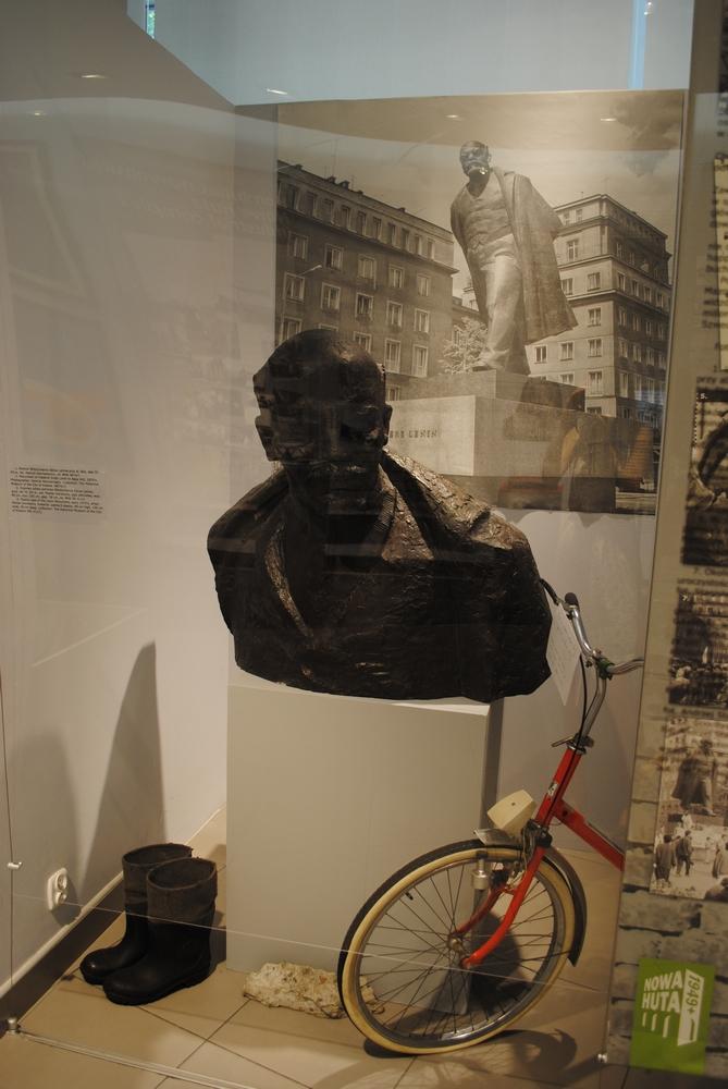 Głowa Lenina pomnik