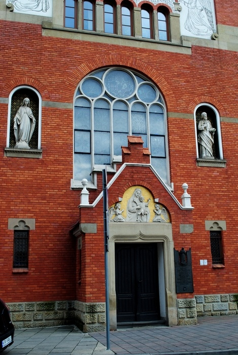 Kościół Sióstr Sercanek ul. Garncarska 24