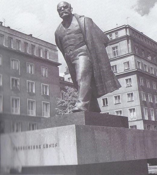 Pomnik Lenina w Nowej Hucie