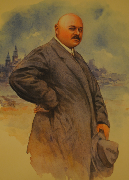 Portret Adama Piaseckiego