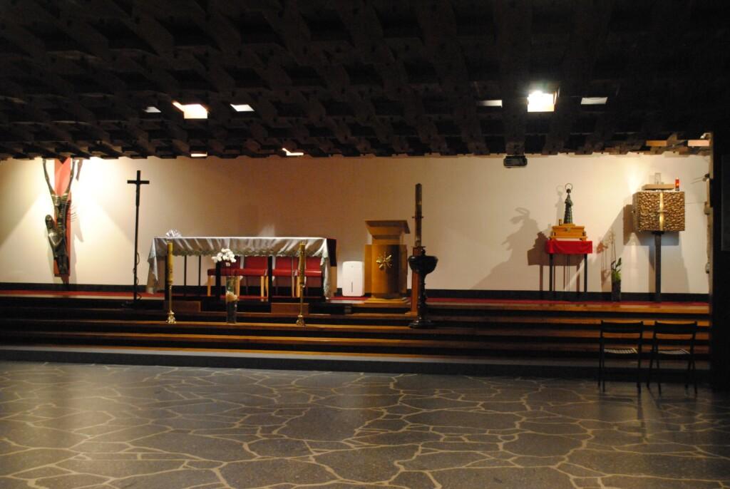 Matka Boska Pancerna w Kaplicy Pojednania