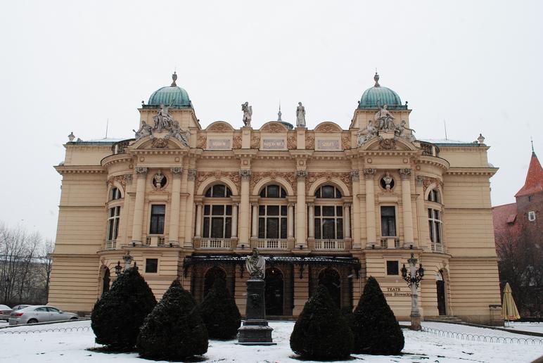 Pluskwy teatromanki w Teatrze Słowackiego
