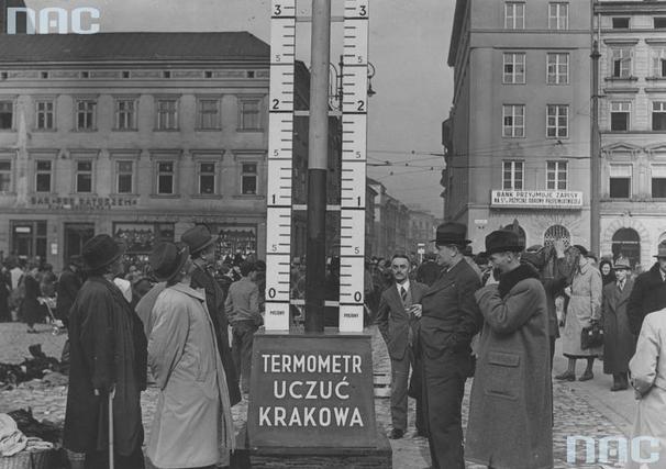Termometr uczuć Krakowa
