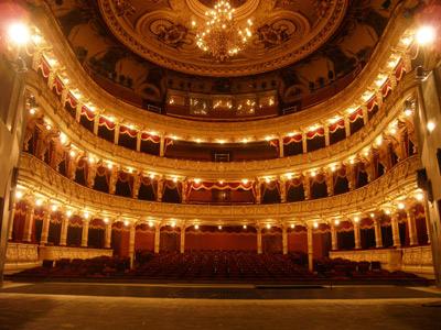 Widownia Teatru im. Juliusza Słowackiego